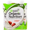 Orgain, Organic Nutrition Complete Protein Shake, Strawberries & Cream, 4 Pack, 11 fl oz (330 ml) Each