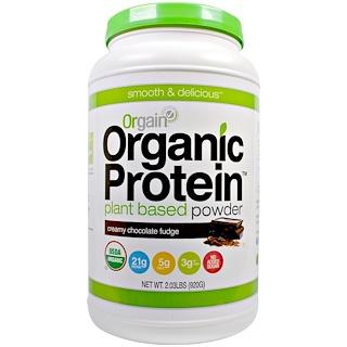 Orgain, Органический протеин растительного происхождения - порошок, нежный шоколадный крем, 920 г