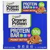 Orgain, Organic Plant-Based Protein Bar, Peanut Butter, 12 Bars, 1.41 oz (40 g) Each