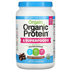 Orgain, Organic Protein & Superfoods Powder, Plant Based, Creamy Chocolate Fudge, 2.02 lbs (918 g)