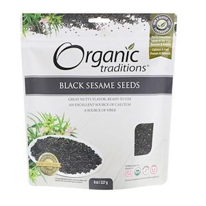 Organic Traditions, Black Sesame Seeds, 8 oz (227 g) отзывы покупателей