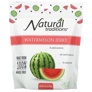 Organic Traditions, Watermelon Jerky, 5.8 oz (165 g)