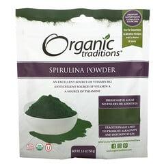 Organic Traditions, 螺旋藻粉,5.3 盎司(150 克)
