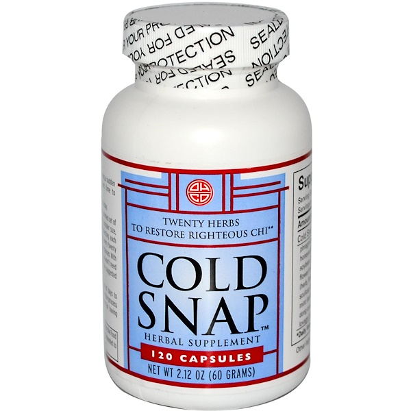 Oriental Herb Company, Cold Snap, 120 Capsules (Discontinued Item)