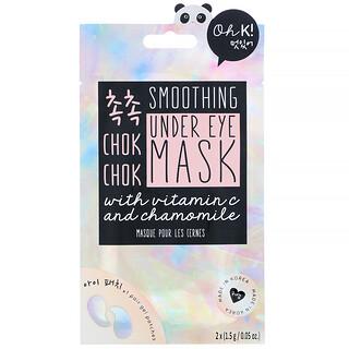 Oh K!, Chok Chok, Smoothing, Under Eye Mask, 1 Pair, 0.05 oz (1.5 g)