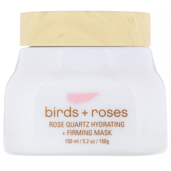 Birds + Roses, Rose Quartz Hydrating + Firming Mask, 5.2 oz (150 g)