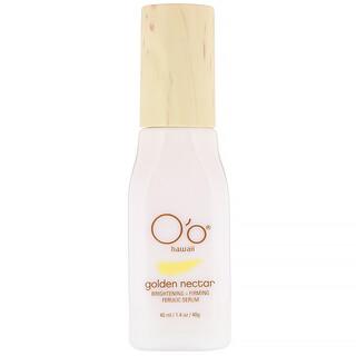 O'o Hawaii, Golden Nectar, Brightening + Firming Ferulic Serum, 1.4 oz (40 ml)