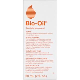 Bio-Oil, スペシャリストスキンケアオイル、2液量オンス(60 ml)