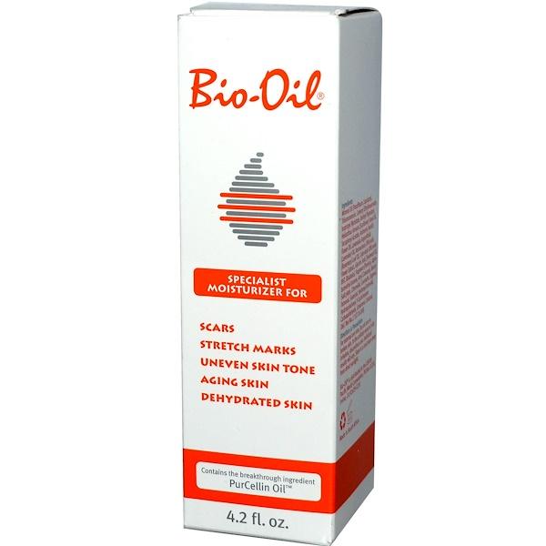 Bio-Oil, バイオ・オイル, スペシャリストモイスチャライザーオイル, 4.2 fl oz