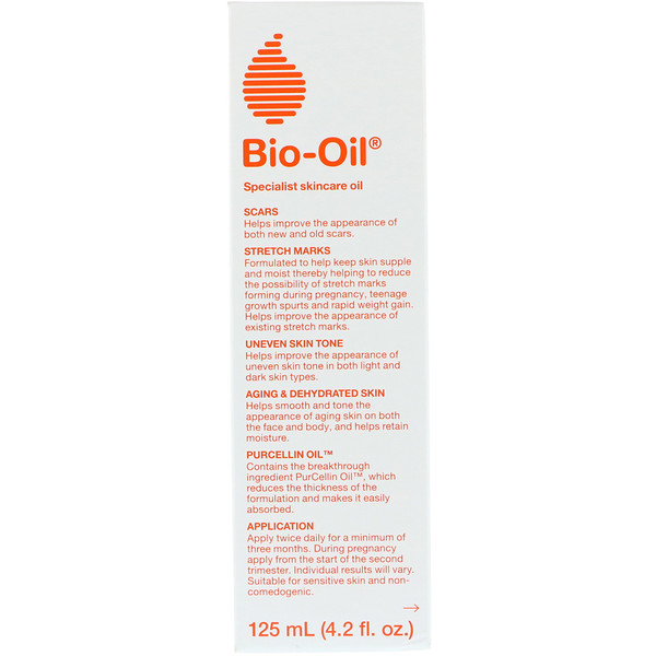 Bio-Oil, Specialist Skincare Oil, 4.2 fl oz (125 ml) (Discontinued Item)