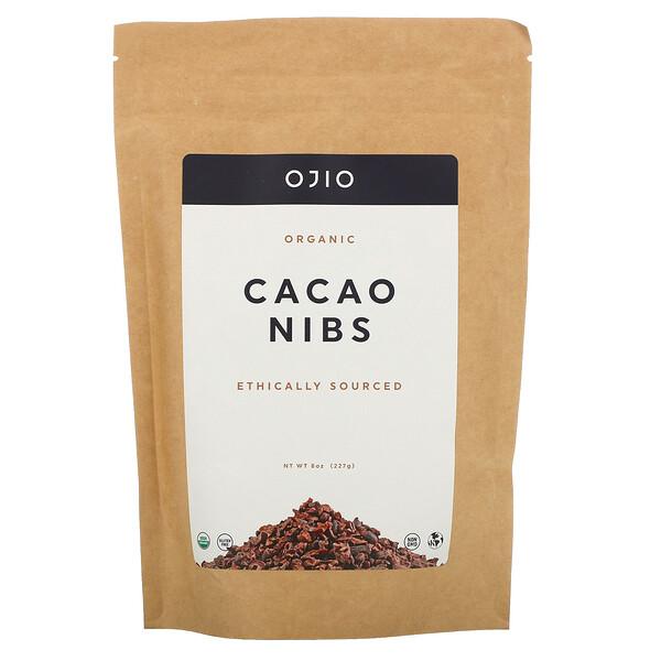 Organic Cacao Nibs, 8 oz (227 g)