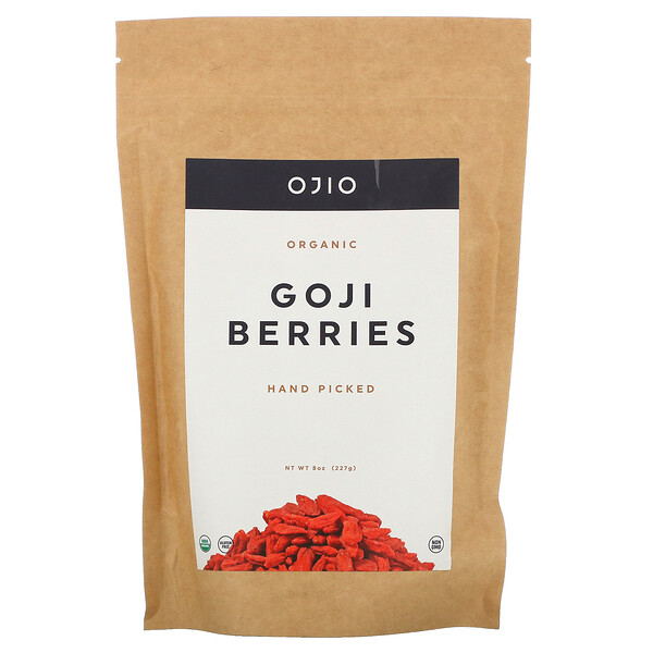 Ojio, Organic Goji Berries, 8 oz (227 g)