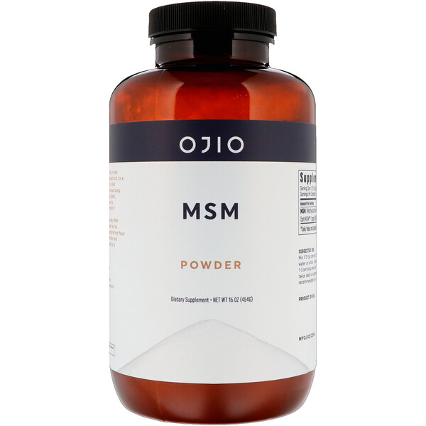 MSM Powder, 16 oz (454 g)