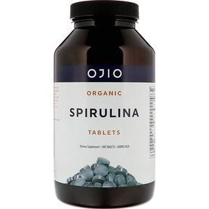 Охио, Organic Spirulina, 500 mg, 500 Tablets отзывы