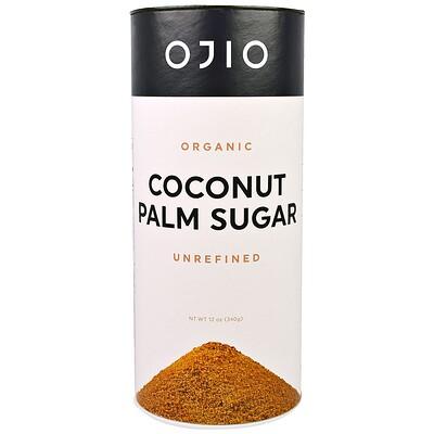 Купить Ojio Органический кокосовый сахар, неочищенный, 12 унций (340 г)