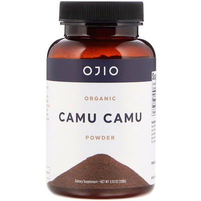 Ojio Organic Camu Camu Powder, 3.53 oz (100 g)