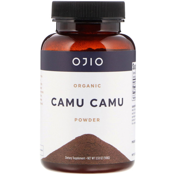 Ojio, Organic Camu Camu Powder, 3.53 oz (100 g) (Discontinued Item)