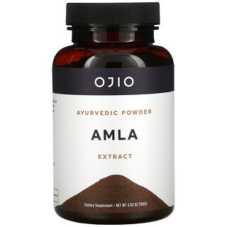 Ojio, Amla Powder Extract, 3.53 oz (100 g)