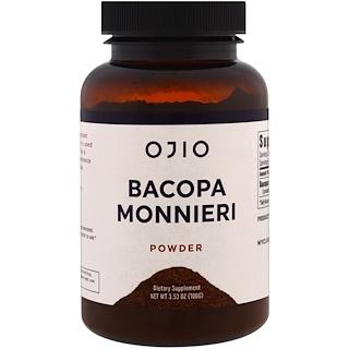 Ojio, Bacopa Monnieri, 3.53 oz (100 g)