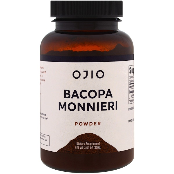 Ojio, Bacopa Monnieri, 3.53 oz (100 g) (Discontinued Item)