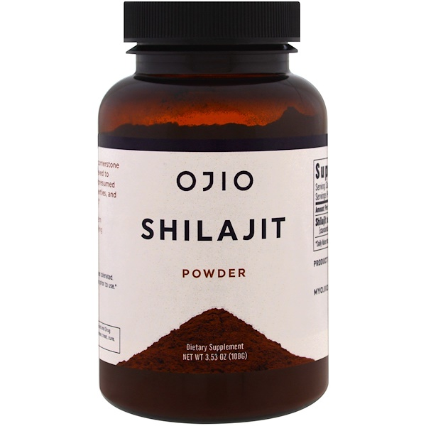 Ojio, Shilajit Powder, 3.53 oz (100 g)