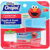Orajel, Elmo Tooth & Gum Cleanser, Fluoride-Free, Fruity Fun, For 3-24 Months, 0.7 oz (19.8 g)