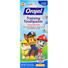 Orajel, Paw Patrol Training Toothpaste, Fluoride Free, Fruity Fun Flavor, 1.5 oz (42.5 g)