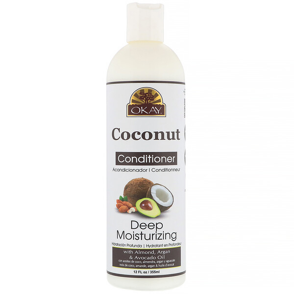 Deep Moisturizing Conditioner, Coconut, 12 fl oz (355 ml)