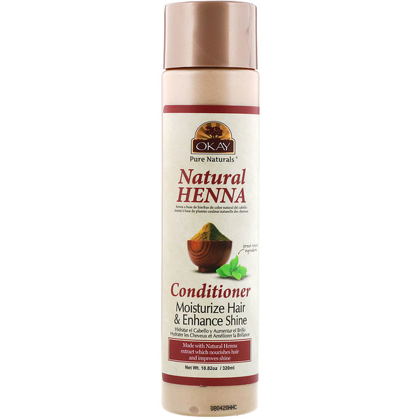 Natural Henna Conditioner, 10.82 oz (320 ml)
