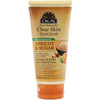 Clear Skin Facial Scrub, Apricot & Sugar, 6 oz (170 g) - фото