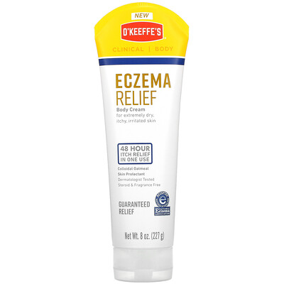 O'Keeffe's Eczema Relief, Body Cream, 8 oz (227 g)