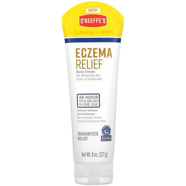 Eczema Relief, Body Cream, 8 oz (227 g)