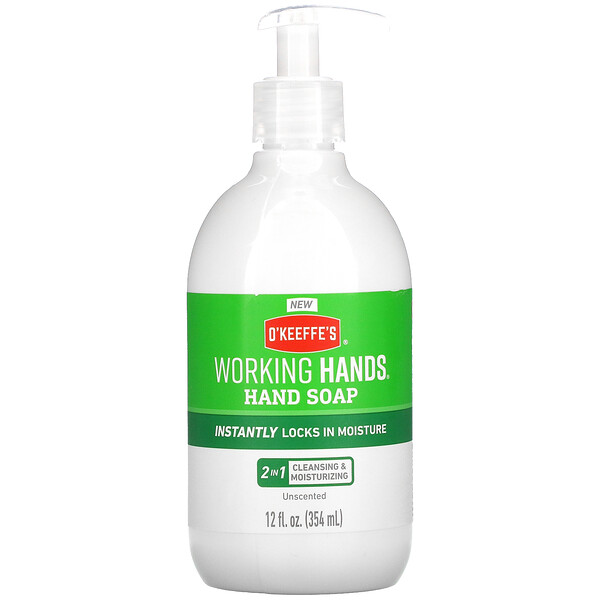 Working Hands Hand Soap, Unscented, 12 fl oz (354 ml)