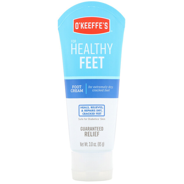 O'Keeffe's, Healthy Feet, Foot Cream, Unscented, 3 oz (85 g)