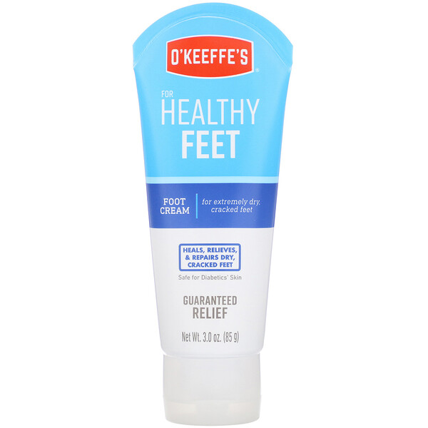 Healthy Feet, Foot Cream, Unscented, 3 oz (85 g)