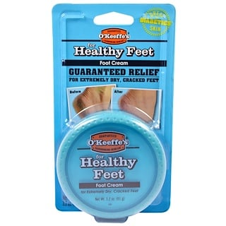 O'Keeffe's, For Healthy Feet, Foot Cream, 3.2 oz (91 g)