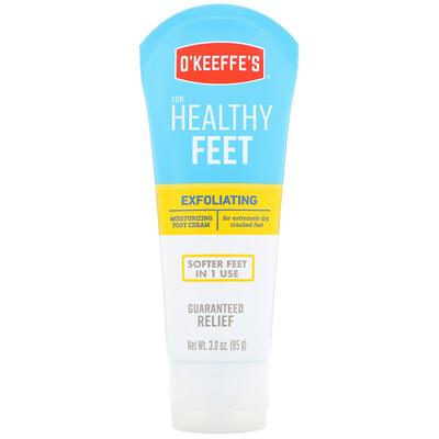 Отшелушивающий увлажняющий крем для ног, для очень сухой, потрескавшейся кожи, 85 г (3 унции) цена 2017