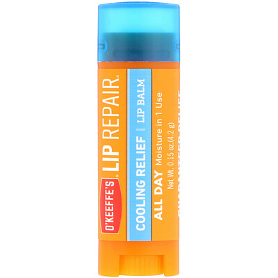 Lip Repair, Cooling Relief, Balm, 0.15 oz (4.2 g)