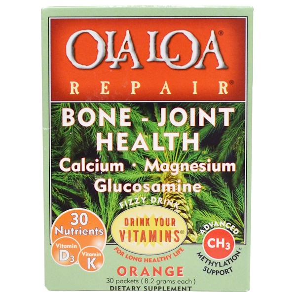 Ola Loa, Repair, Bone - Joint Health, Orange, 30 Packets, 8.2 g Each (Discontinued Item)