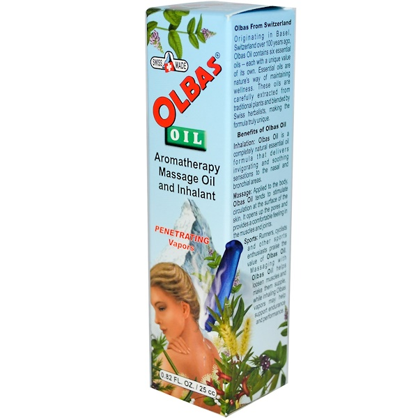 Olbas Therapeutic, Olbas Oil, 0.82 fl oz (25 cc) (Discontinued Item)