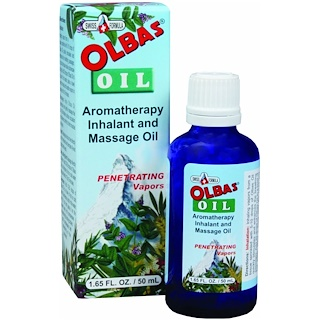Olbas Therapeutic, Aromatherapy  Inhalant and Massage Oil, 1.65 fl oz (50 ml)