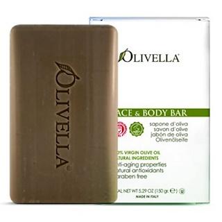 Olivella, Barra para rostro y cuerpo, 5,29 oz (150 g)