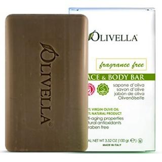 Olivella, Barra para Rostro y Cuerpo, Sin Fragancia, 3.52 oz (100 g)