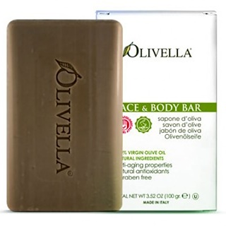 Olivella, Face & Body Bar, 3.52 oz (100 g)