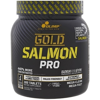 Olimp, Gold Salmon Pro, 300 Tablets