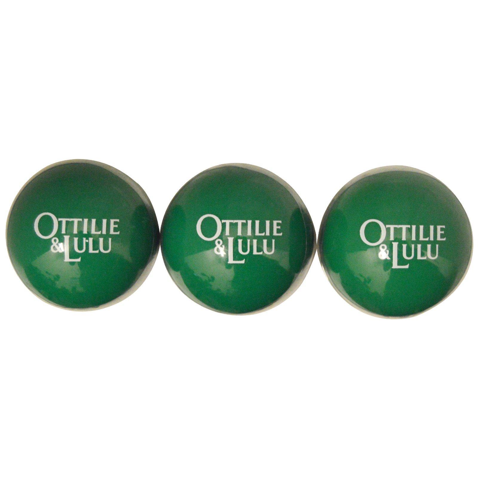 Ottilie Lulu, Бальзам для губ, тропический пунш, набор из 4 штук, 0.5 унций каждый