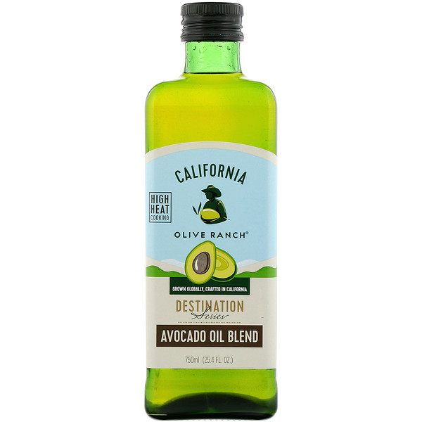 California Olive Ranch, Destination Series, Avocado Oil Blend, 25.4 fl oz (750 ml)
