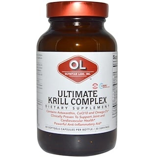 Olympian Labs Inc., Ultimate Krill Complex, 60 Softgel
