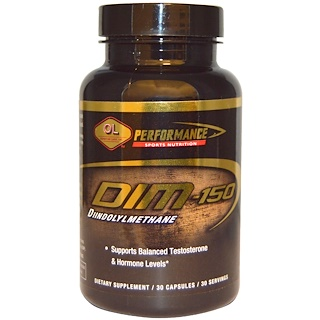 Olympian Labs Inc., Performance Sports Nutrition, DIM, 150 mg, 30 Capsules