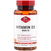 Olympian Labs Inc., Vitamin D3, 5000 IU, 100 Softgels